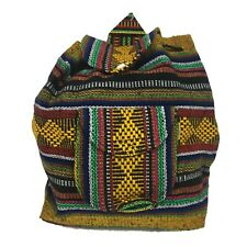Small Beach Mexican Hippie Baja Tote Ethnic Backpack Bag Blanket Hipster