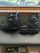 New listing USD Carbon Black 2021 Aggressive Skates size 11 with multiple frames/wheels