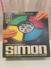 Vintage Mb 1978 Simon Electronic Memory Toy