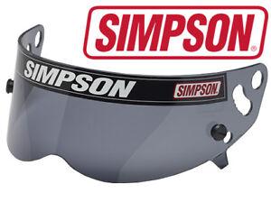 Simpson Speedway RX/Diamondback Visor / Shield - Smoked