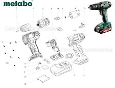Ricambi originali per avvitatore METABO SB 18 02245000 ricambio motore carcassa
