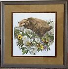 BUGGED BEAR   by Bev Doolittle S/N   82/1000 L/E  Print <br/> Rare Print, framed,  and low number!