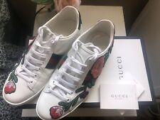 Gucci Sneakers Womens Ace with floral appliqué Size 40+