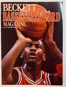 Beckett Basketball Card Magazine Michael Jordan Issue #1 March/April 1990