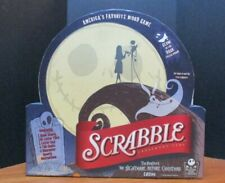 Nightmare Before Christmas Glow In The Dark Scrabble All Pieces Incl. No Damage