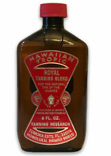 Hawaiian Tropic Royal Tanning Blend Oil Vintage New 8oz Made in the Usa