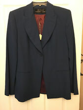 ALEX GARFIELD - GARFIELD & MARKS Suit Coat - Blue Shaded - Size 8