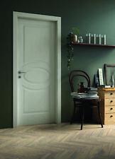 Porte per interni pantografate ovale DoorLife finitura laccato bianco H4160