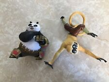 Kung Fu Panda STAR THROWING PO & LEG SWINGING MONKEY Action Figure LOT