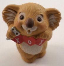 Hallmark Merry Miniatures Koala Bear With Xox Craft Art Valentine Love 1988