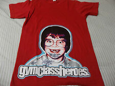 Gym Class Heroes tour shirt signed AUTOGRAPHED BY BAND LOOK ADULT SMALL