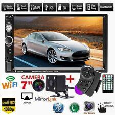 "7"" Autoradio Stereo Bluetooth Doppel 2Din USB TF FM AUX MP5 MP3 Player + Kamera"