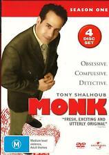 Monk ,new/sealed 4dvd set - Complete First / One / 1 Season ft Tony Shalhoub