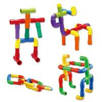 Pipes Pipeline Changeable Children DIY Game Building Block 1Set Plastic Toy LB