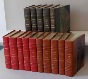 André GIDE - Oeuvres complètes - NRF - 1932/1939 EO - en 15 volumes reliés num.