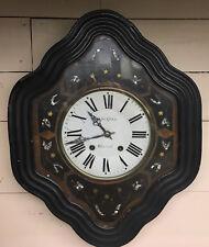 Antique French Vineyard Wall Clock c.1890