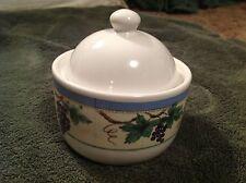 Pfaltzgraff Merlot Sugar Bowl w/ Lid BRAND NEW