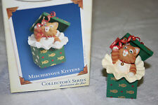 Hallmark Keepsake Ornament - Mischievous Kittens #7