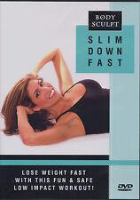 BODY SCULPT ~ SLIM DOWN FAST ~ DVD new