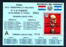 Block Paraguay 1978 Fußball WM Argentinien ** postfrisch Block 329 BR451