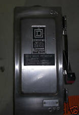 Square D Heavy Duty Safety Switch w/ 30 amp Disconnect
