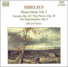 Sibelius: PIANO MUSIC Vol. 1, New Music