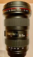 CANON EF 16-35mm f/2.8 L II USM Lens EXCELLENT CONDITION Very Nice and clean