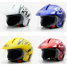 Neu Kinder Motorrad Helm Scooter Helm Winter Thermo Helme Kinderhelm DE