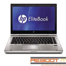 "HP EliteBook 8460p Core i5 2540M 2.6Ghz 4GB 128GB SSD DVDRW Win 7 Pro 14"" Laptop"