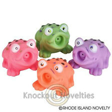 """Dozen 2.5"""" Frog Squirt Toy Bulk Toy Play Vending Carnival Prize Game"""