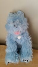 Build A Bear terrier Westie Dog Stuffed animals blue Babw plush