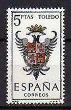 A7753) SPAIN 1966 #1093 MNH** Coat of Arms Toledo 1v