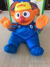 Tumbling Ernie doll By Tyco. Muppet Toy 13 Inch Doll