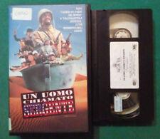 VHS FILM Ita Comico UN UOMO CHIAMATO SERGENTE gary kroeger ex nolo no dvd(VH87)