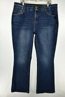 Lane Bryant High Rise Boot Cut Tighter Tummy Tech Jeans Womens Size 20 Long