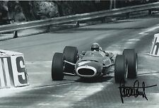 Jackie Stewart Hand Signed 12x8 Photo F1.