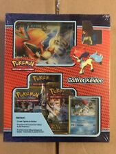 French Keldeo Gift Set, Promo, Boosters And Jumbo Card For Game Tcg Ccg