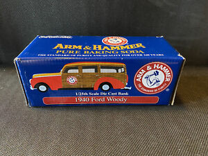 Arm & Hammer Commemorative 1940 Ford Woody Die Cast Vehicle BANK #4