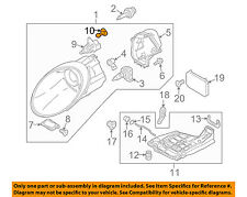 PORSCHE OEM 05-13 911 Headlight Head Light Lamp-Igniter Screw 99763119900