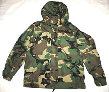US ARMY ECWCS WOODLAND GORE-TEX COLD WEATHER PARKA - LARGE REGULAR