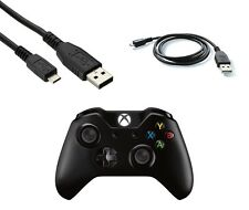 3m Micro USB Charger Cable for Xbox One Wireless Controller Play & Charge Black