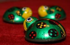 1960'S Japanese Mechanical LADY BUGS, 3 TIN TOYS in good condition, Works!