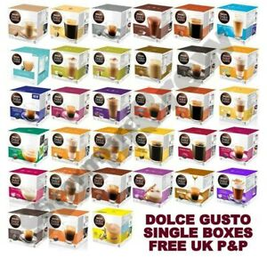NESCAFE DOLCE GUSTO COFFEE,TEA,CHOCO PODS.BUY 3 & GET 1 BOX FREE:ADD 4 TO BASKET