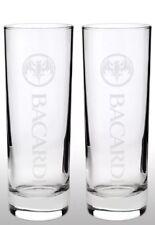 Bacardi Talk Glass X 2 New