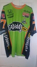 Danics Patrick IndyCar #7 Go Daddy 100% Pullover Shirt NEW size XXL By Main Gate