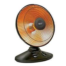 Radiant Fan Forced Personal Space Heater Adjustable Tilt 1000W Home Room Warmer