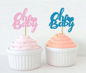 Darling Souvenir Gender Reveal Cupcake Toppers Boy Or Girl Baby-Rr0