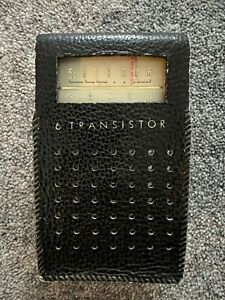 Vintage Sanyo 6C-30 AM radio (1960s)