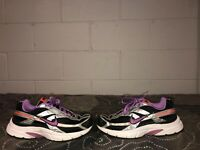 Nike Initiator Womens Athletic Running Shoes Size 9.5 Black Purple Orange Gray