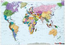 Jigsaw puzzle world map English version 51 * 73.5cm 1000pcs WH1000-1 monsh